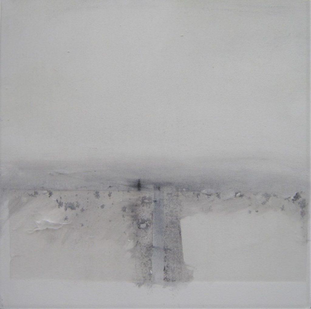 small white landscape i