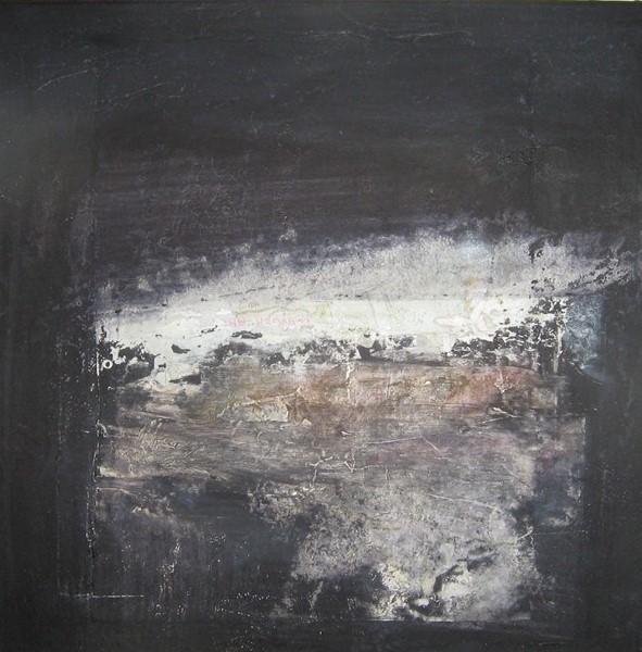 small black landscape ii